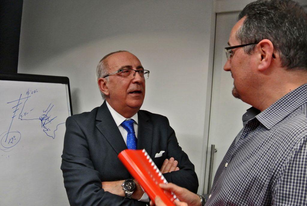Antonio Flores y Eugenio Sanz