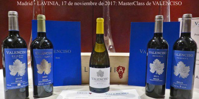 VALENCISO: Luís Valentín da una MasterClass en LAVINIA – Madrid, 17 de nov de 2017