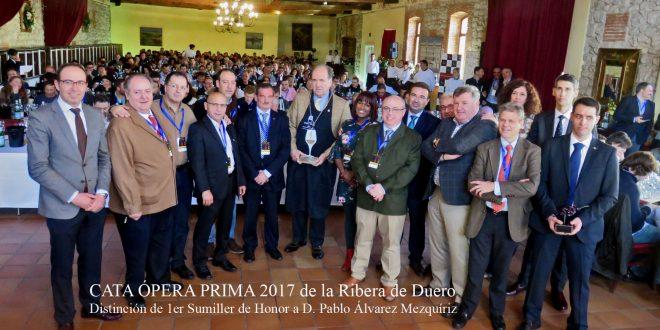 CATA ÓPERA PRIMA 2017 DE LA RIBERA DE DUERO