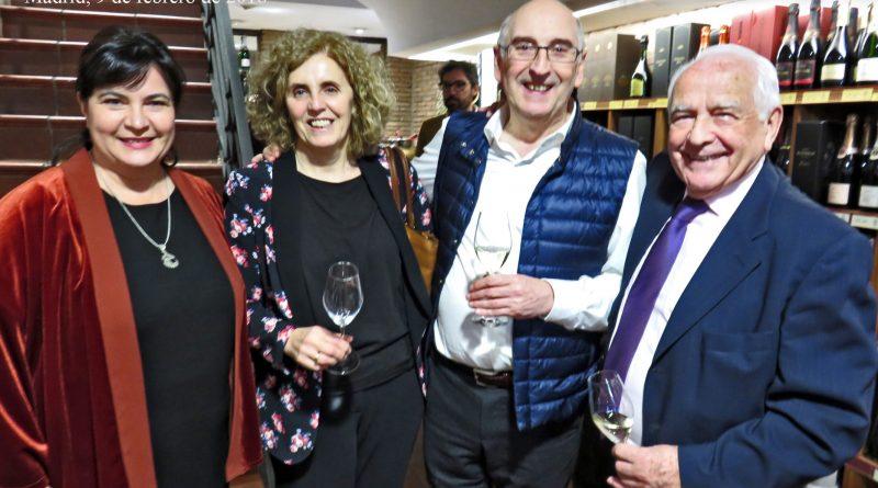 La familia Santa Cecilia celebra el 95 aniversario de su empresa con el apoyo de la familia Artadi Madrid, 9 de febrero de 2018