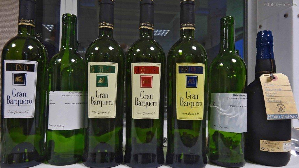 Cata de vinos del Grupo Pérez Barquero en la AMS Sumilleres de Madrid, 27 de febrero de 2015