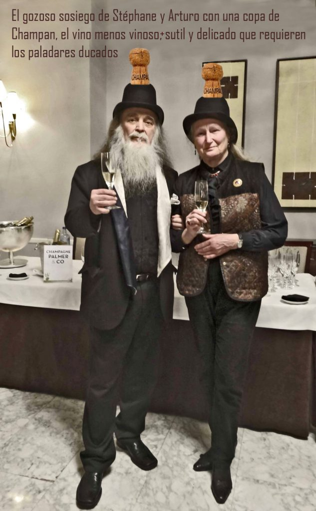 Arturo Pardos y Stèphane Guerin, duques de Gastronia