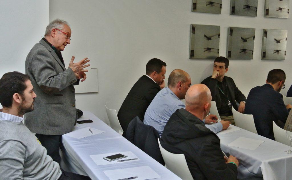 """Seminario """"La realidad del Cava"""". Intervención de José Peñin"""