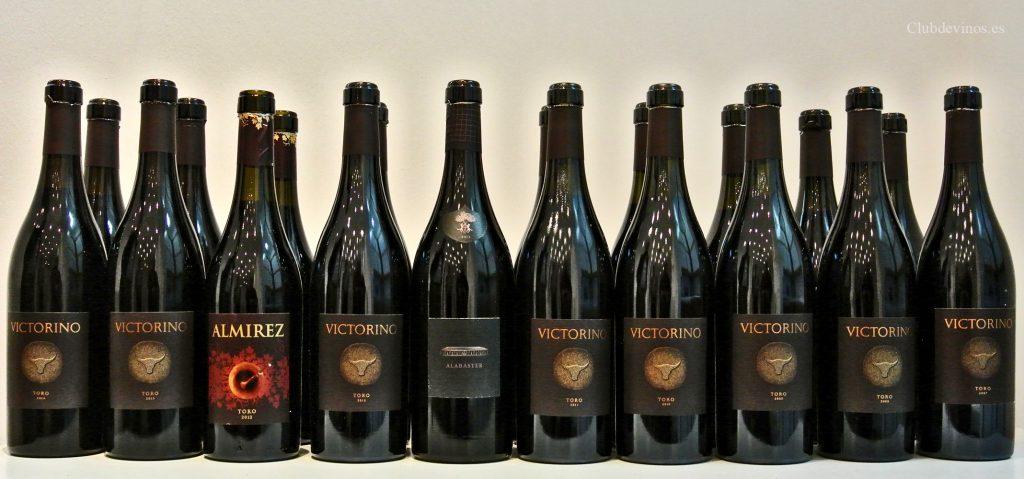 """Viñedos y Bodegas SIERRA CANTABRIA en la UEC, Unión Española de Catadores: Cata Vertical del vino VICTORINO, proyecto de la Bodega """"Teso La Monja"""" en la DO.Toro"""