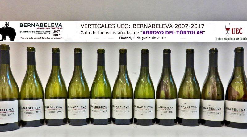 """VERTICALES UEC: BERNABELEVA """"ARROYO DEL TÓRTOLAS 2007 - 2017"""""""