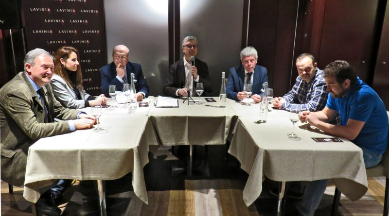 Mesa redonda de Protagonistas en Vinos de Montilla-Moriles en Lavinia, Madrid, 13 de abril de 2018